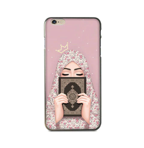 Hijabi with Qur'an Phone Case