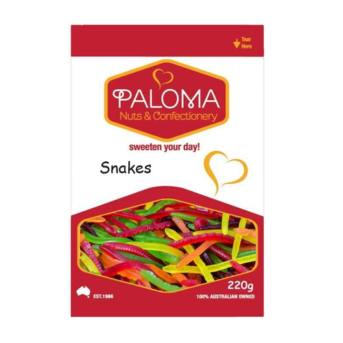 Snakes Halal Lollies
