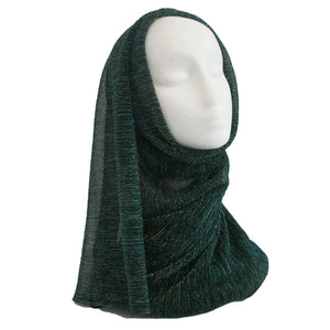 Shimmer Formal Hijab Green