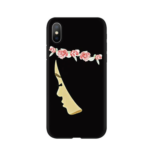 Hijabi with Flower Crown Phone Case