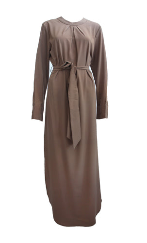 Side Split Basic Abaya Dress