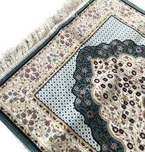 High Quality Prayer Mat - Teal - Made in Madina