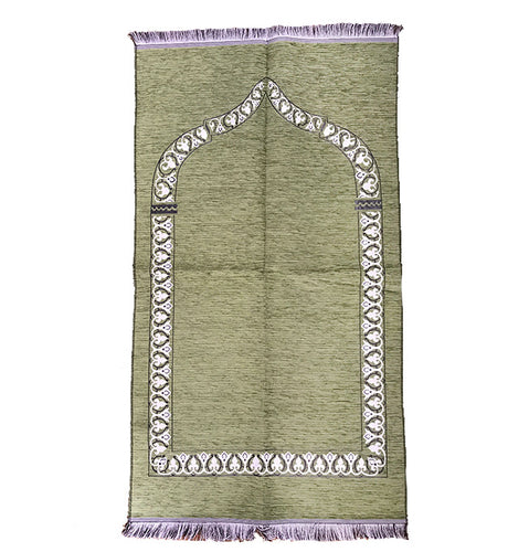 Thin Standard Prayer Mat - Green