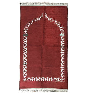 Thin Standard Prayer Mat - Red