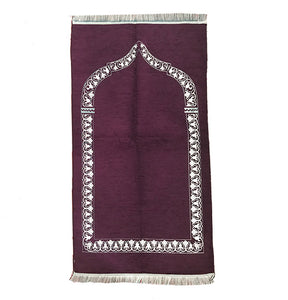 Thin Standard Prayer Mat - Purple