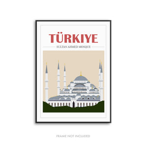 Mosque Illustration Turkey