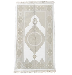 Grey & Cream Standard Prayer Mat