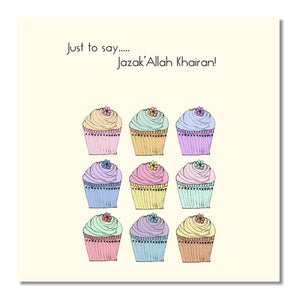 Jazak Allahu Khair Greeting Card