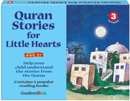My Quran Stories for Little Hearts Gift Box-3 (Six Paperback Books)