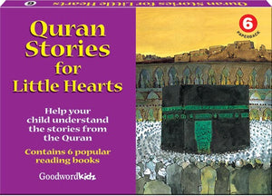 My Quran Stories for Little Hearts Gift Box-6 (Six Paperback Books)