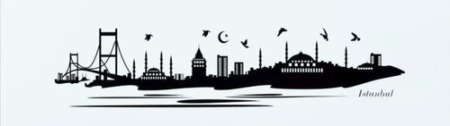 Turkey Skyline Wall Decal