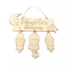 Ramadan Wooden Plaque