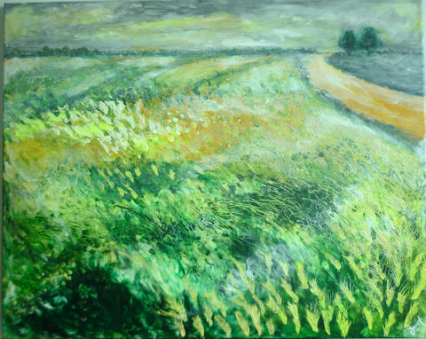 The Countryside (acrylic on canvas)