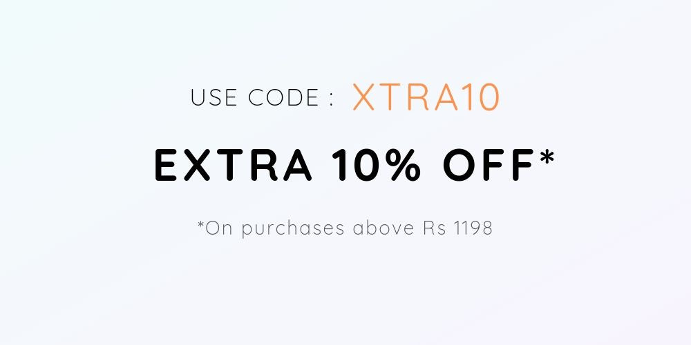 EXTRA 10% OFF