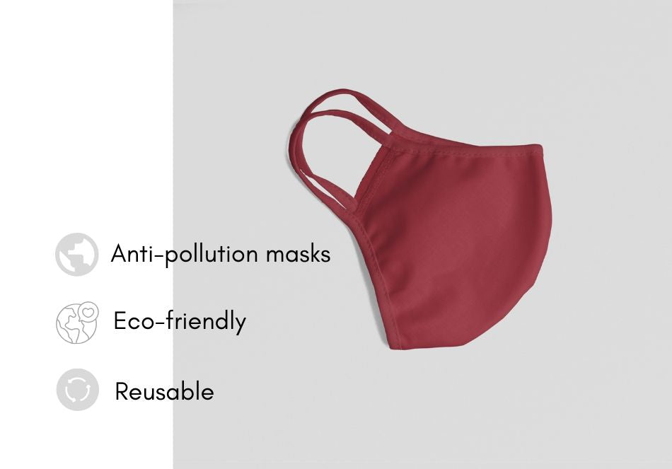 Face mask- 100% cotton - washable