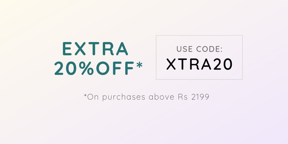 Extra 20% OFF offer