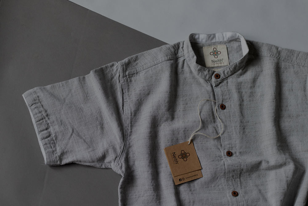 Ash Grey Shirt by Neith
