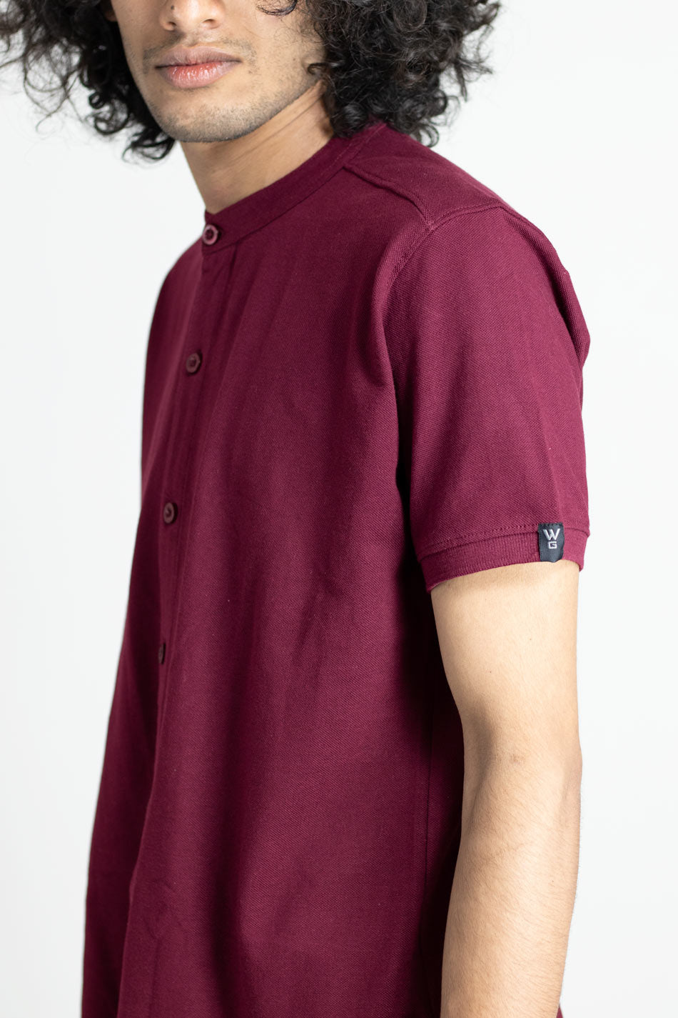Maroon Oak - Marcella Shirt by Wildgear