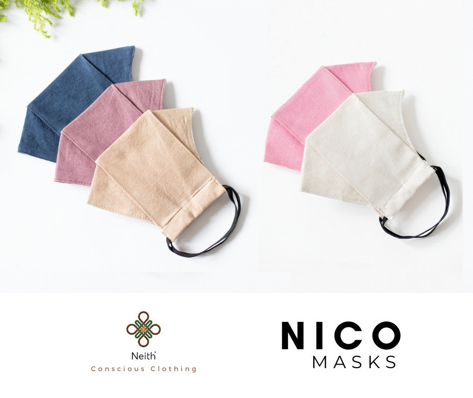 Face mask- 2 layer reusable - Pack of 5