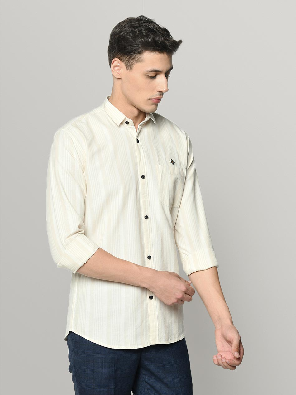 Cotton casual shirt for men