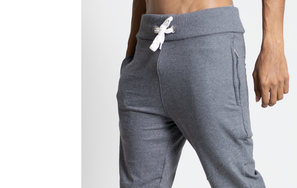 Cosmos Grey Jogger by Wildgear