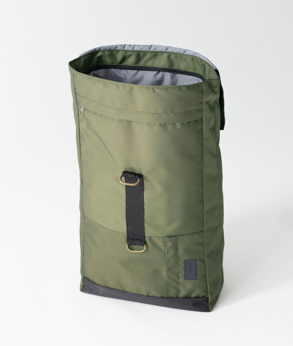 Olive Green backpack for men and women