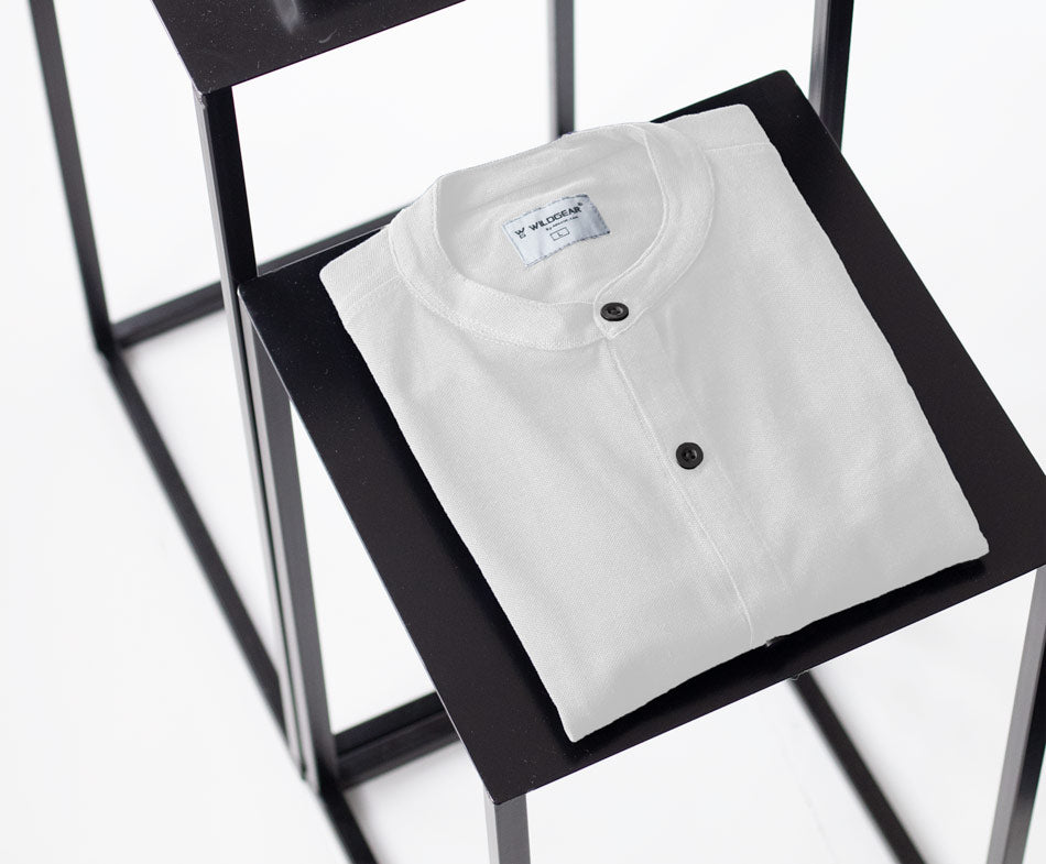 Classic white - Marcella Shirt by Wildgear