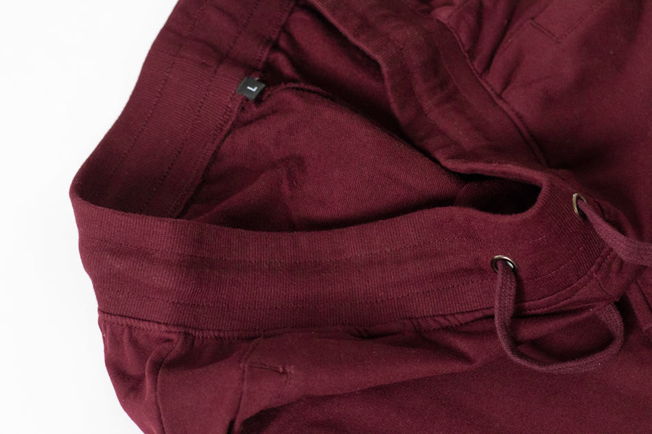 Cotton jogger maroon for men by wildgear