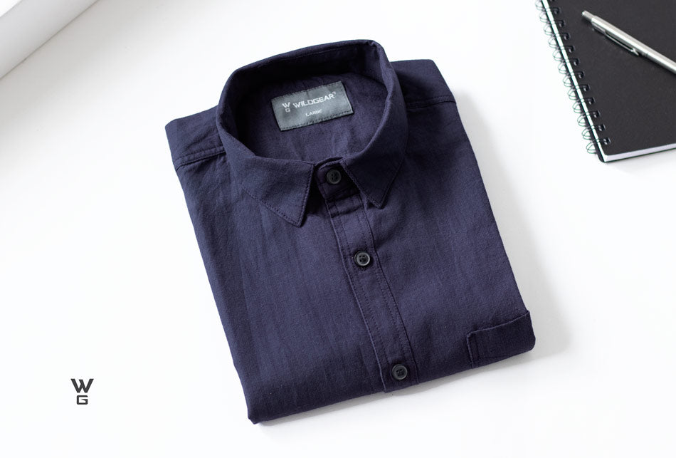 Space blue long sleeves shirt by Wildgear