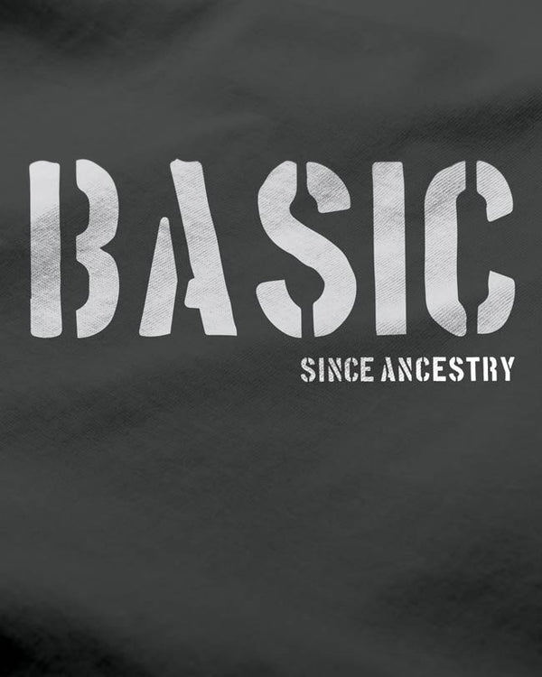 Basic - Men's T-shirt Steel Grey, Printed Tees