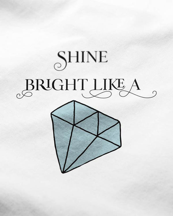 Like a Diamond - Women's O-Neck T-Shirt