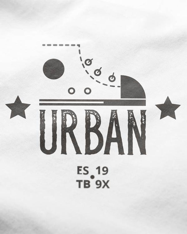 Urban - White O-Neck T-shirt