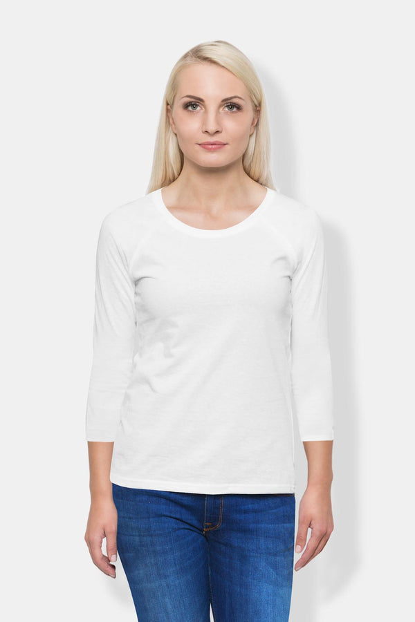 Women's Long Sleeve - White