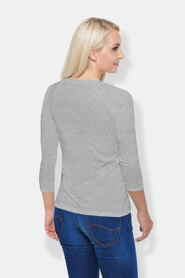 Women's Long Sleeve - Grey Melange