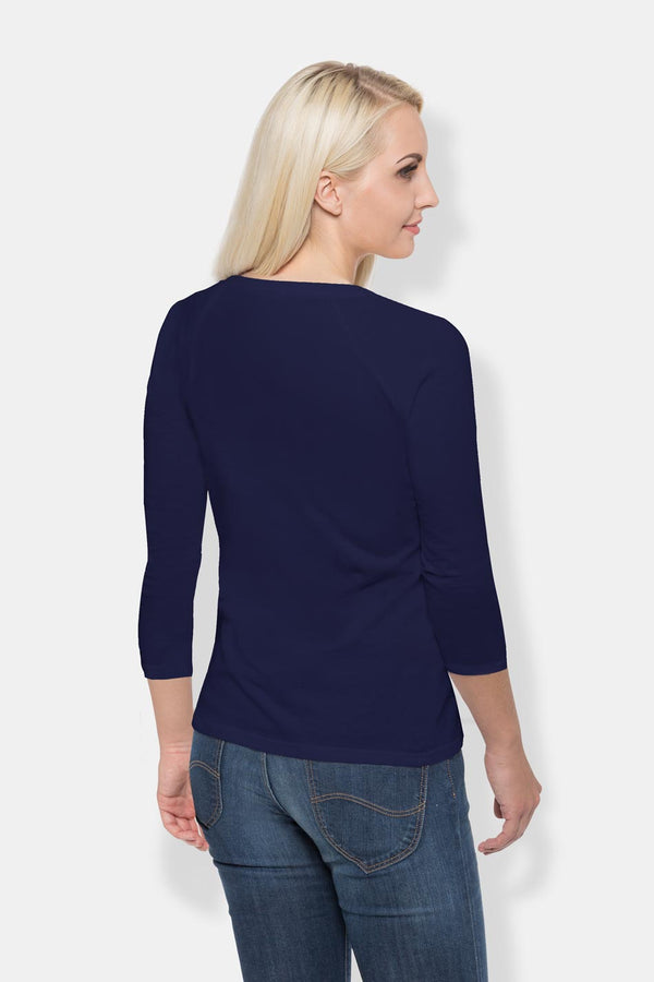 Women's Long Sleeve - Navy Blue