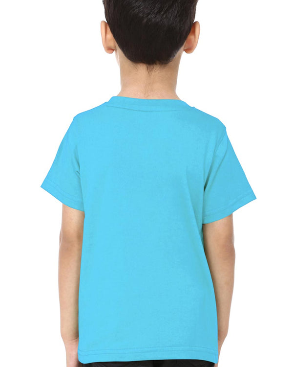 Boys O-Neck T-shirt Light Blue