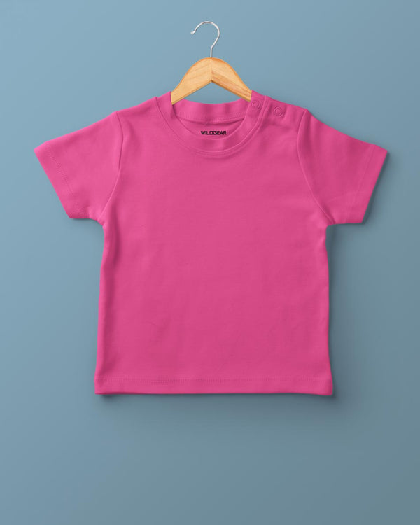 Boys O-Neck T-shirt Pink