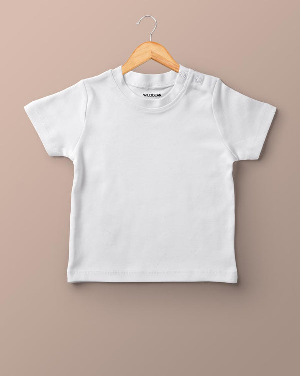 Girls O-Neck T-shirt White