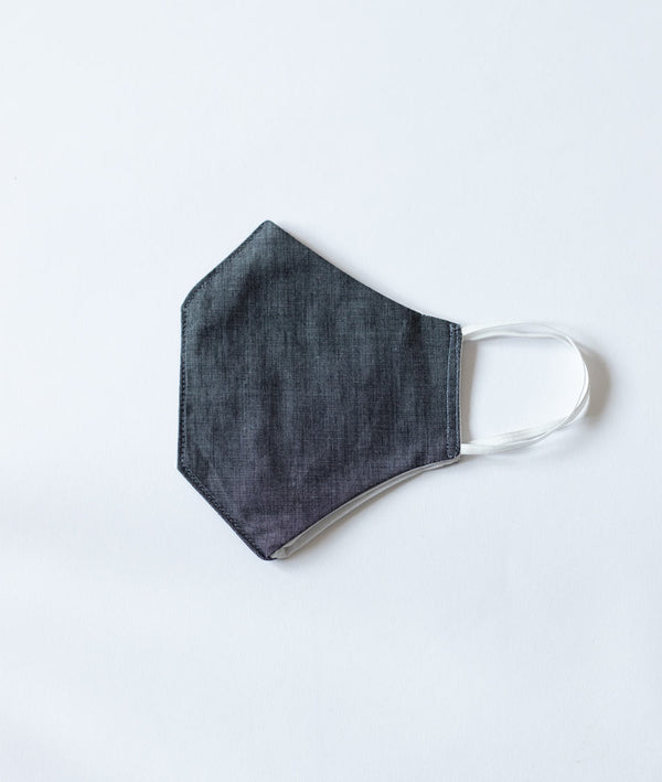 Face Mask Washable - Charcoal Grey - 100% Cotton