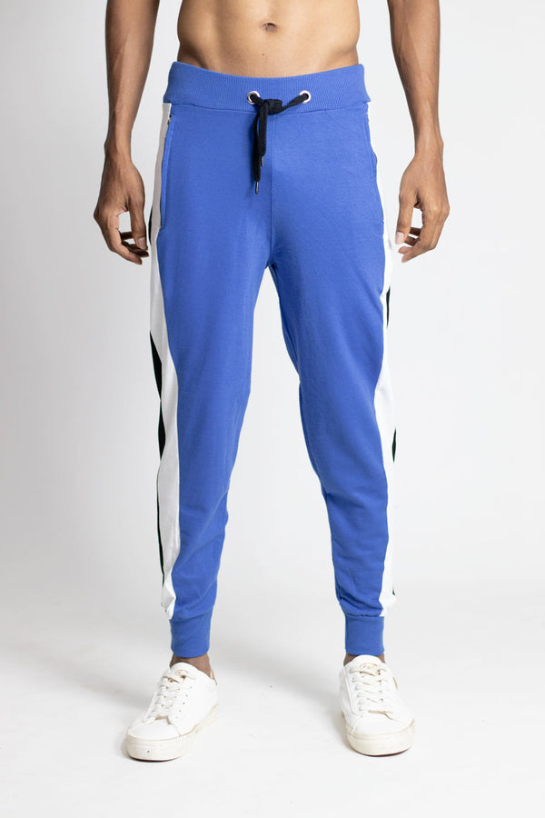 Joggers for Men - Infinite Blue - 100% cotton