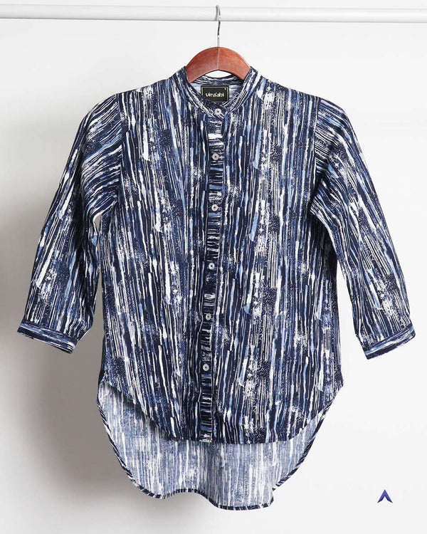 Vira'ahi - Women's Electric Blue Shirt