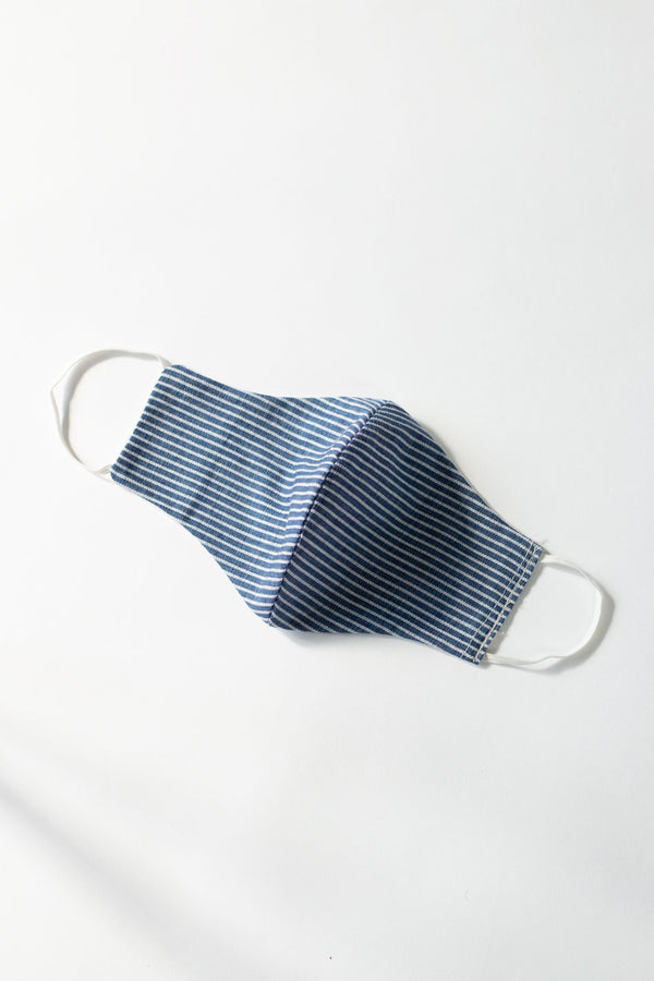 Breathable Cotton face Mask - Arctic Blue