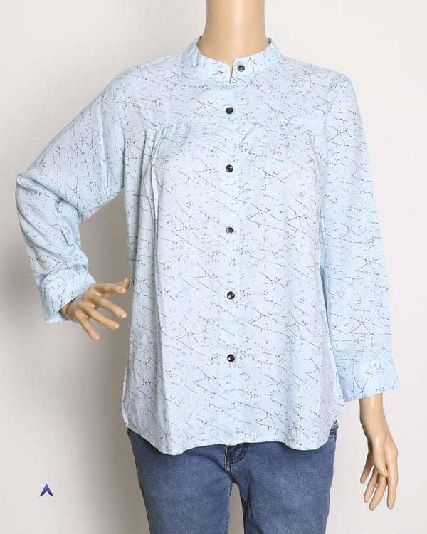 Vira'ahi - Women's Baby Blue Shirt