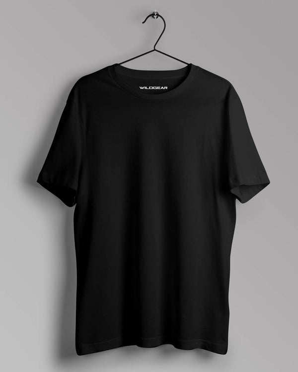 Men's Solid Black