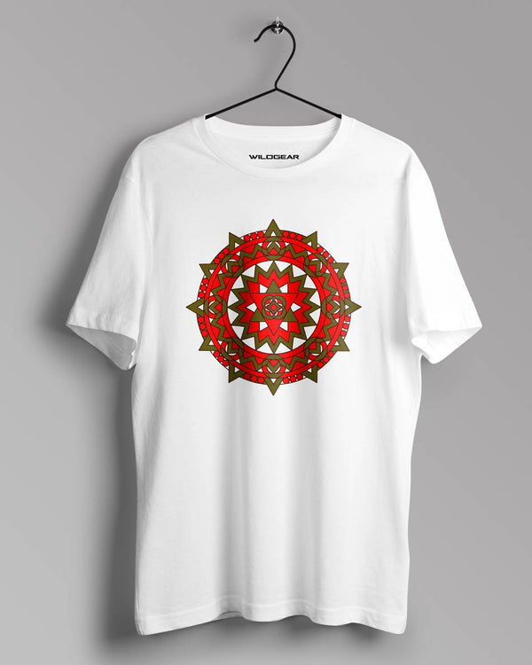 White Graphic T-Shirt for Men