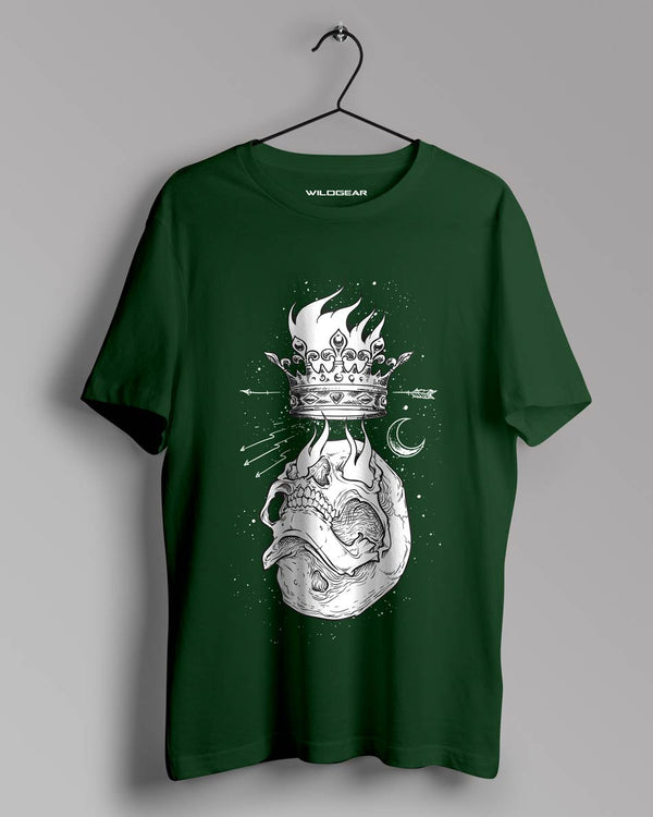 Flamed  crown Design by WildGear Apparels