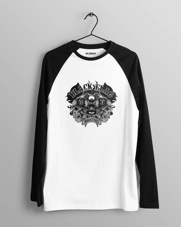 Black Flag - Men's Raglan