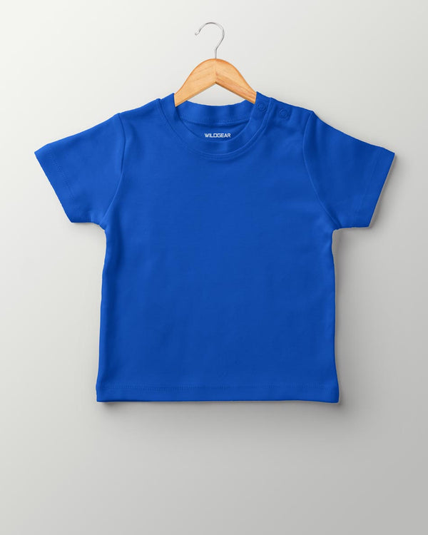 Boys O-Neck T-shirt Royal Blue