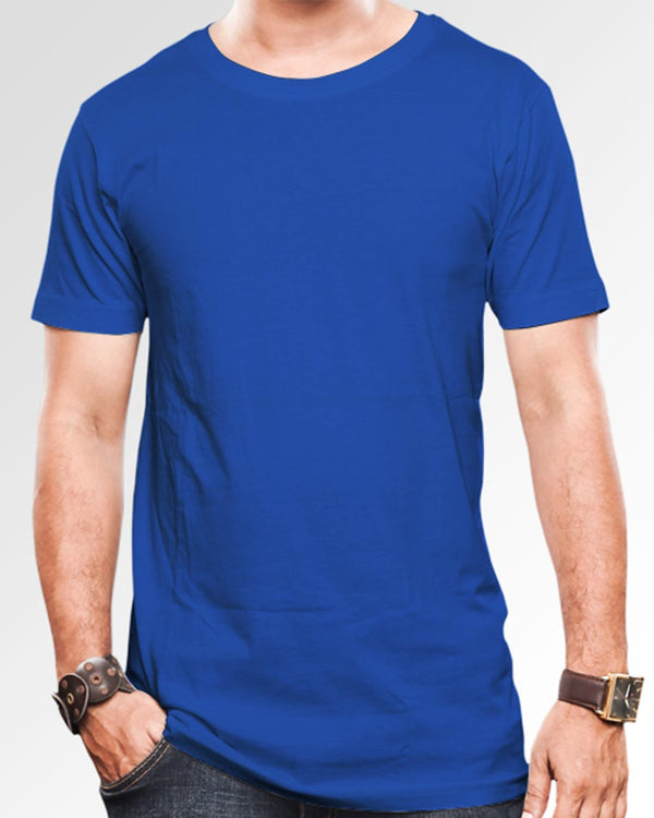 Men's Solid Royal Blue
