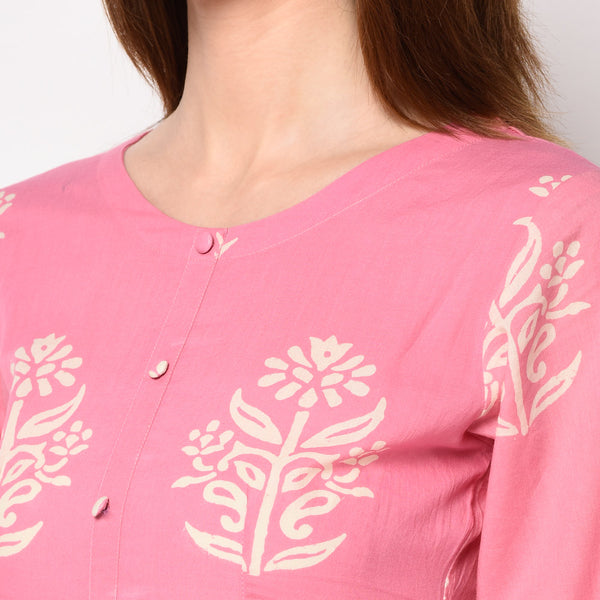 Cotton Kurti Set by Viraahi | Alloons.com